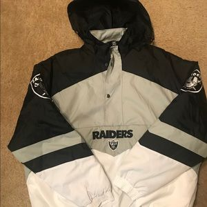 Oakland Raiders Pull Over Jacket